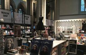 museuimshop in Nieuwe kerk Amsterdam